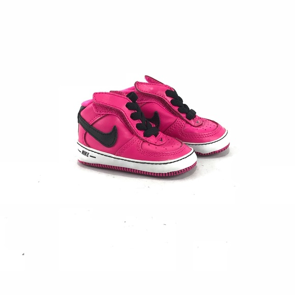 Infant Baby Soft Sole Pink Nike Shoes